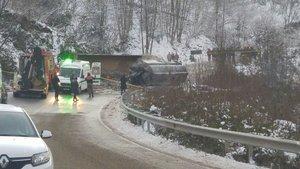 Giresun'da feci kaza: 2 ölü, 1 yaralı