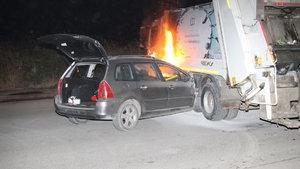 Yanan araçtan polisin çıkardığı yaralı sürücü kaçtı