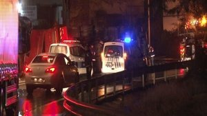 Ümraniye'de trafik kazası: 2 yaralı