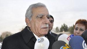 Adalet Bakanlığı'ndan Ahmet Türk açıklaması