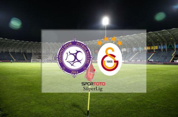 Osmanlıspor'un konuğu Galatasaray