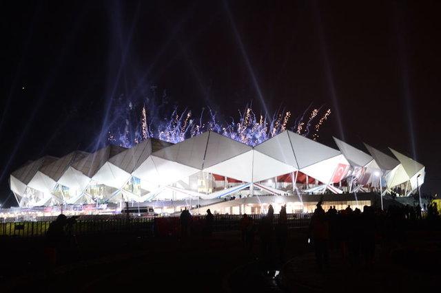 Trabzon Şenol Güneş Stadı açıldı