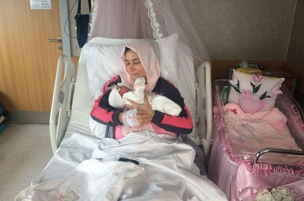 Fatma Topkaya nakilden 18 ay sonra bebek sahibi oldu!