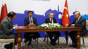 Katar ile işbirliği anlaşması imzalandı