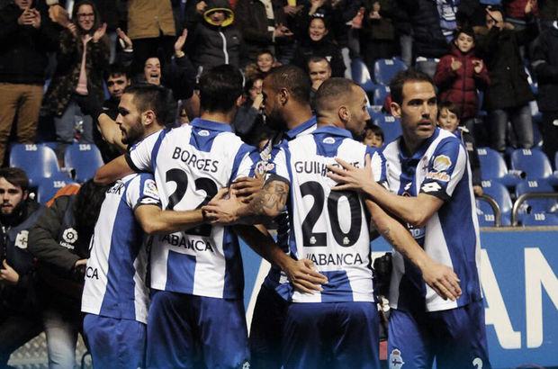 Deportivo La Coruna evinde galip