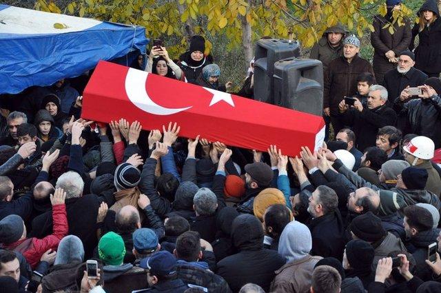 Türkiye, Kayseri şehitlerine ağladı
