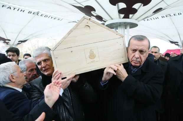 Prof. Dr. Süleyman Yalçın'ı Cumhurbaşkanı uğurladı