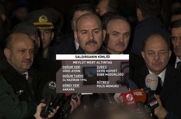 Bakan Soylu saldırganın kimliğini açıkladı
