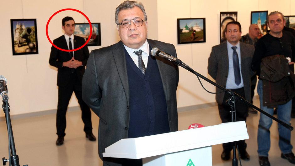 Ankara'da silahlı saldırı Andrey Karlov Rusya Büyükelçisi