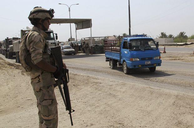 Bağdat'ta kontrol noktaları kaldırılıyor