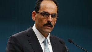 Cumhurbaşkanı Sözcüsü İbrahim Kalın'dan Halep uyarısı