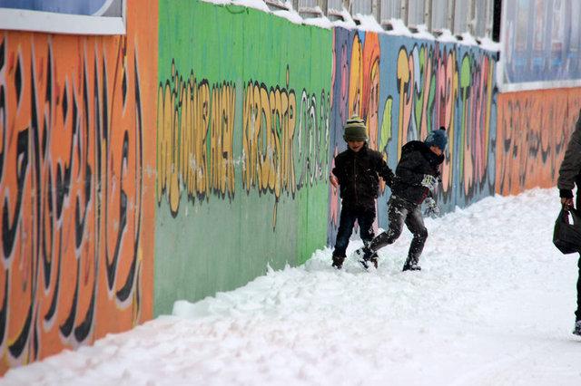 Eğitime kar engeli!