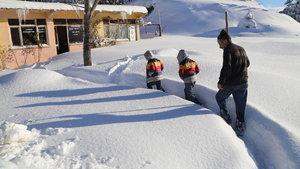 Kastamonu'da eğitime kar engeli
