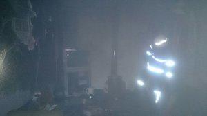 Öğrenci evinde yangın: 1 yaralı