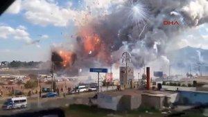 Meksika'da havai fişek faciası 31 ölü, 60 yaralı