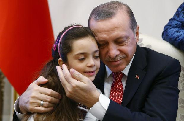 Suriyeli Bana, Erdoğan'la buluştu