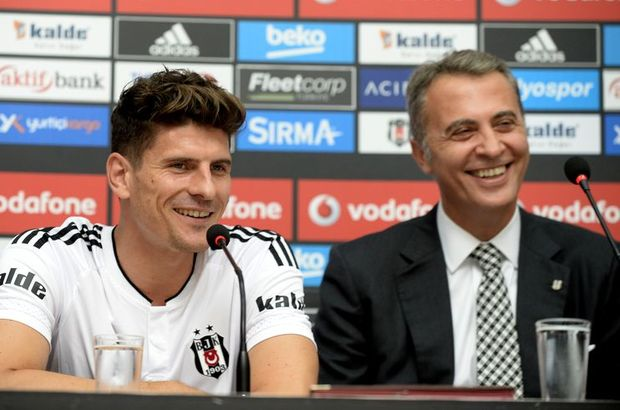 Beşiktaş başkanı Fikret Orman'dan Mario Gomez'e yeşil ışık!