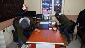 Hizan Belediyesi'nde arama yapıldı