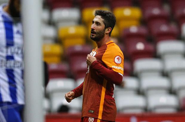 Tuzlaspor ağlarına Galatasaray'ın ilk golünü kaydeden Sabri Sarıoğlu 601 gün sonra golle tanıştı