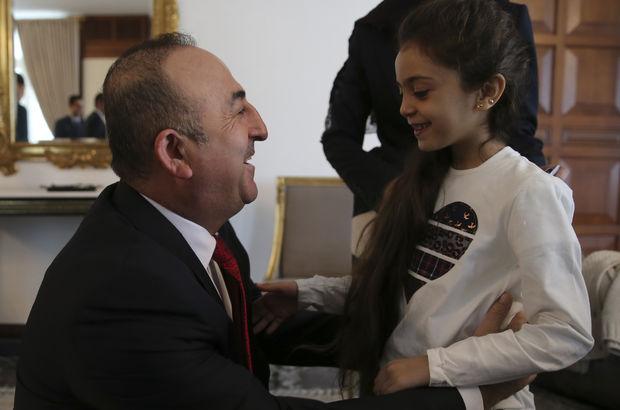 Halepli Bana'dan Dışişleri Bakanı Çavuşoğlu'na teşekkür