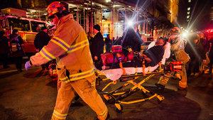 New York'ta dev binada yangın! Yaralılar var...