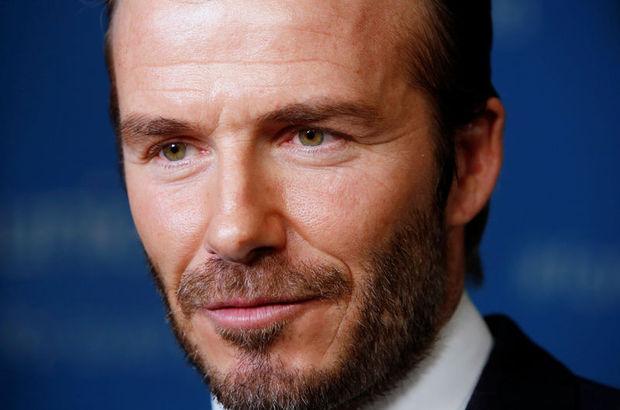 David Beckham para basıyor