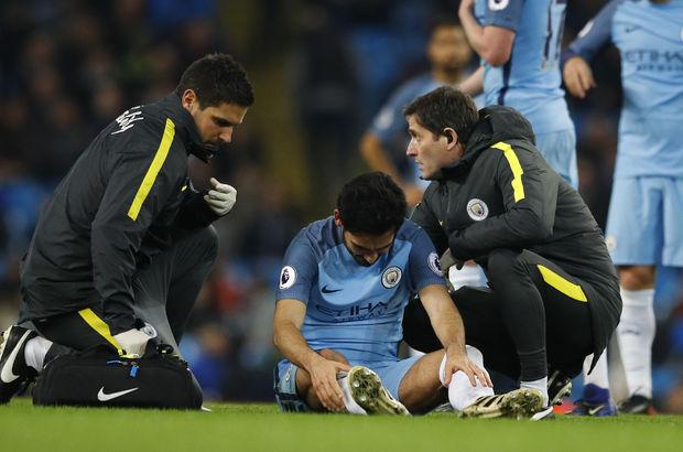 Sağ çarpraz bağları kopan Manchester City'nin Türk asıllı futbolcusu İlkay Gündoğan, ameliyat edildi
