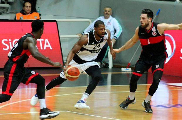 Beşiktaş Sompo Japan: 67 - Gaziantep Basketbol: 60