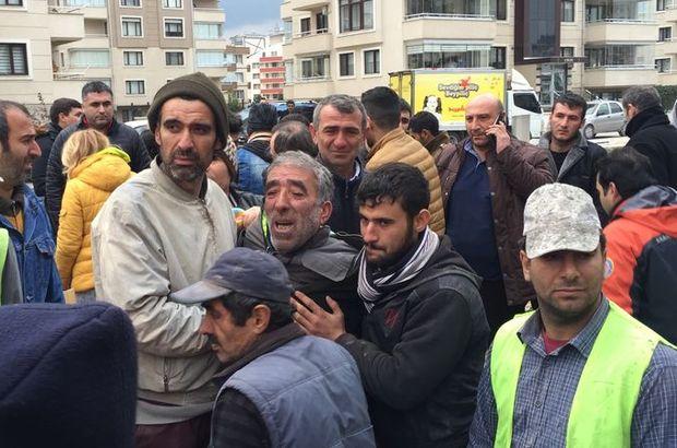 Bursa'da kanalizasyon kazısında göçük meydana geldi