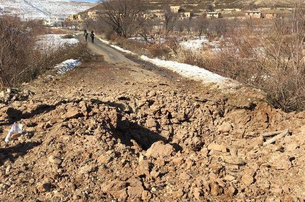Mardin'de yola tuzaklanmış 60 kilo patlayıcı bulundu