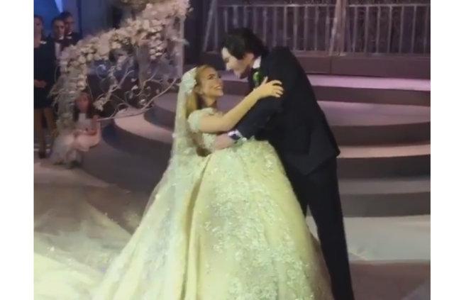 Ali Ağaoğlu kızı Sena Ağaoğlu'nu evlendirdi