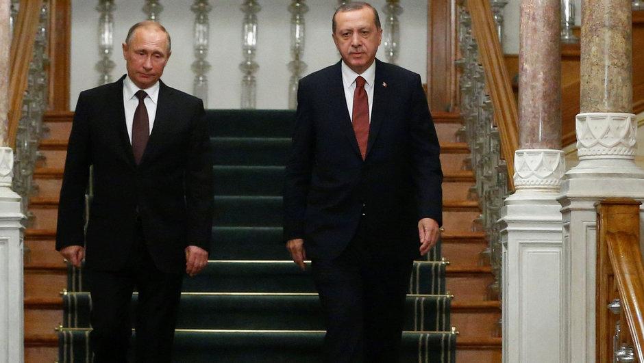 Erdogan Putin İle Suriye Krizini Görüştü