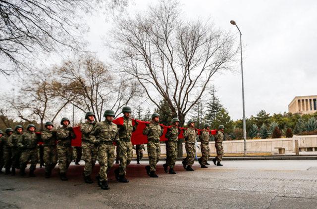 """Ankara'da """"Atatürk Garnizon Koşusu"""" yapıldı"""