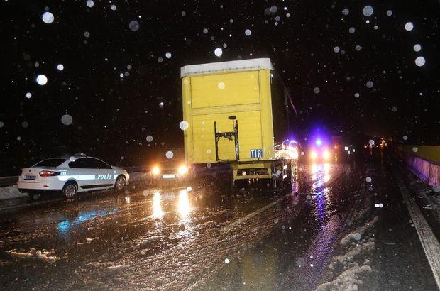 Gülek Boğazı'nda zincirleme trafik kazası: 7 yaralı