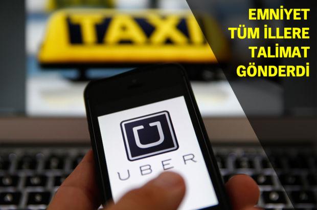 Emniyet Genel Müdürlüğü Uber Ceza