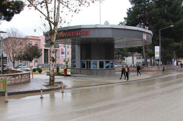 Amasya Üniversitesi'nde sigarayı bırakanlara yemek bedava