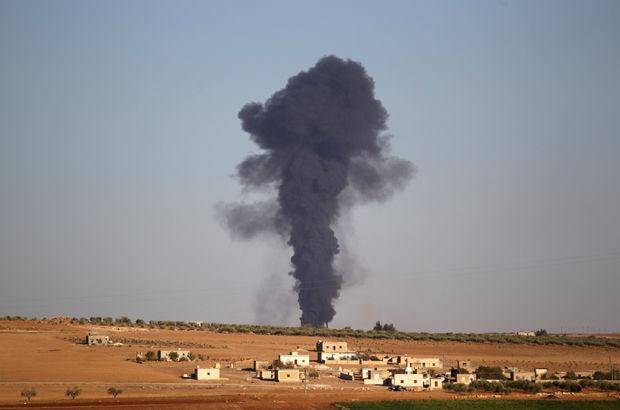 El Bab'da 158 hedef vuruldu, 13 DEAŞ'lı öldürüldü