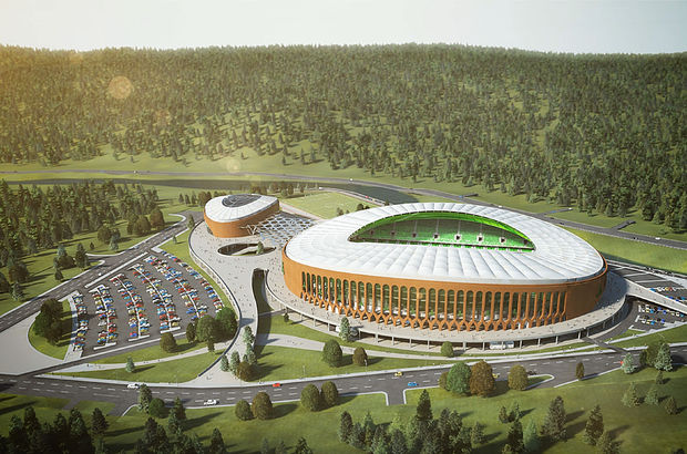 Çotanak Arena 24 saat kullanılabilecek