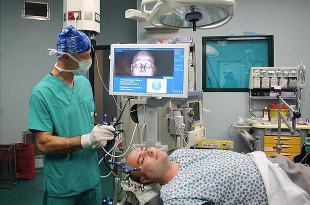 Navigasyon yardımıyla beyin ameliyatı yaptılar