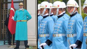 Cumhurbaşkanlığı Külliyesi'ndeki polislerin üniformaları yenilendi