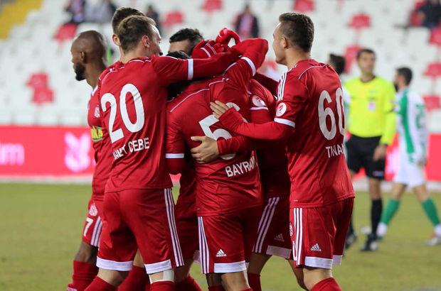 Sivasspor: 3 - Yeni Amasyaspor: 1