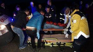 Tekirdağ'da iki araç birbirine girdi: 7 yaralı