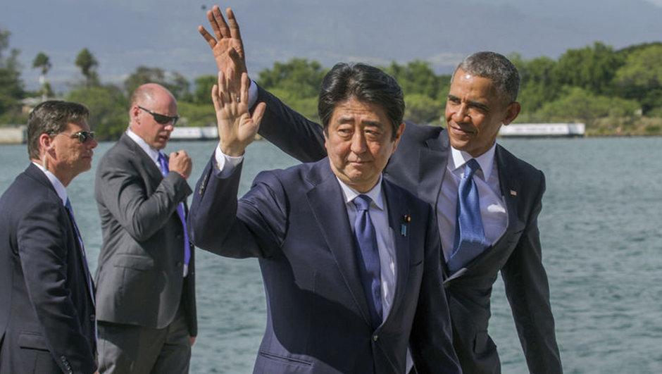 ABD Başkanı Obama, Japonya Başbakanı Abe