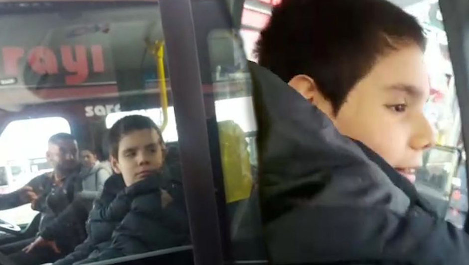 Kadıköy-Pendik minibüs hattı Kadıköy-Kartal minibüs hattı otizmli çocuk