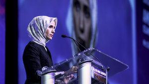 Sümeyye Erdoğan Bayraktar MAS-ICNA Kongresi'nde konuştu