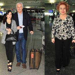 Yurtdışı yolcuları...