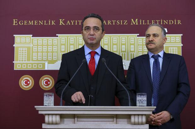 CHP'li Levent Gök ve Bülent Tezcan'dan anayasa açıklaması