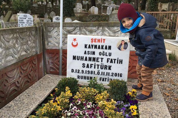 Şehit kaymakam Muhammet Fatih Safitürk'ün eşinin paylaşımı yürekleri burktu