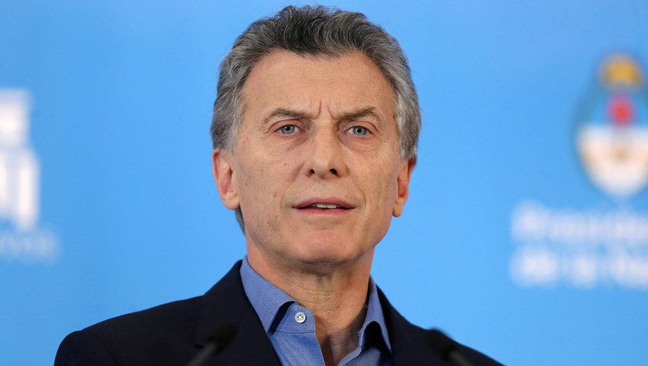 Arjantin Mauricio Macri