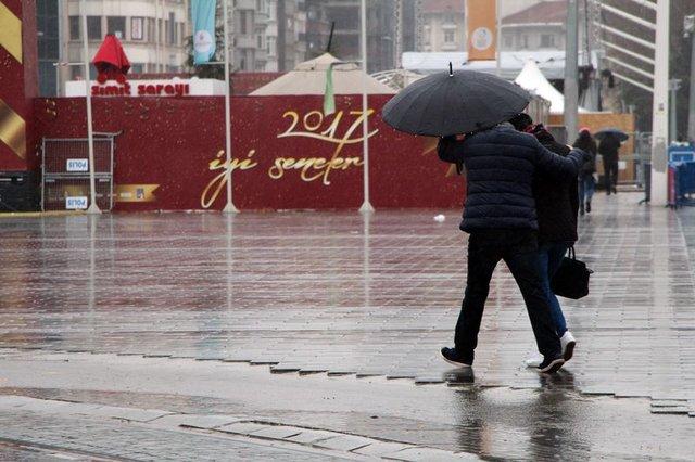 Hava durumu 29.12.2016 İstanbul'da kar yağışı ne zaman başlayacak?